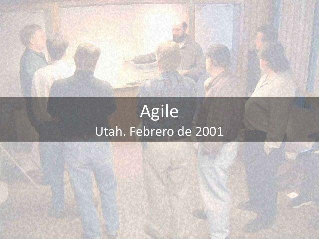 Agile Utah. Febrero de 2001