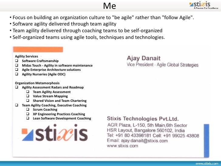 Agile Architecture Retrospective