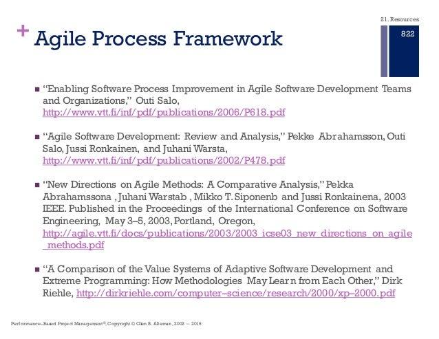 47 agile process framework n enabling software - What Is Agile Methodology Pdf