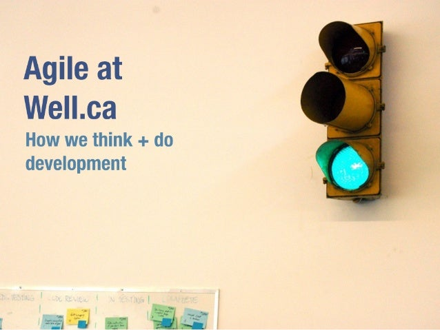Agile at Well.ca