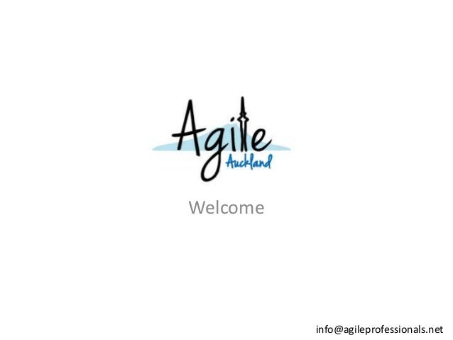 Welcome  info@agileprofessionals.net