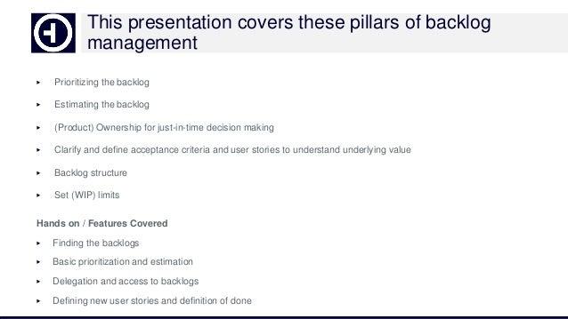 Agile backlog management with Hansoft Slide 2