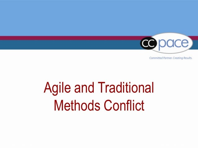 Blended agile for Agile vs traditional methodologies