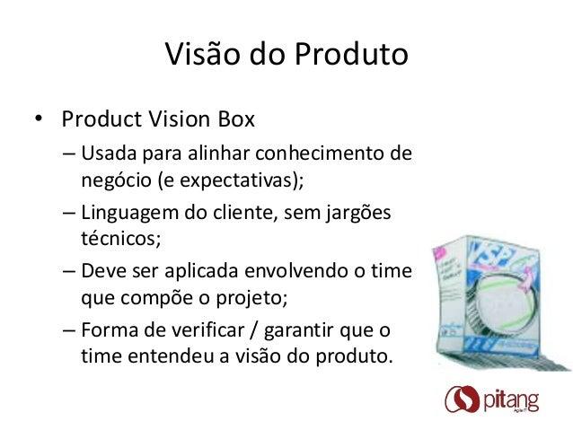 Agile Brazil 2013 - Product Vision Box Slide 2