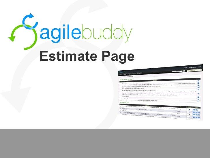 Estimate Page