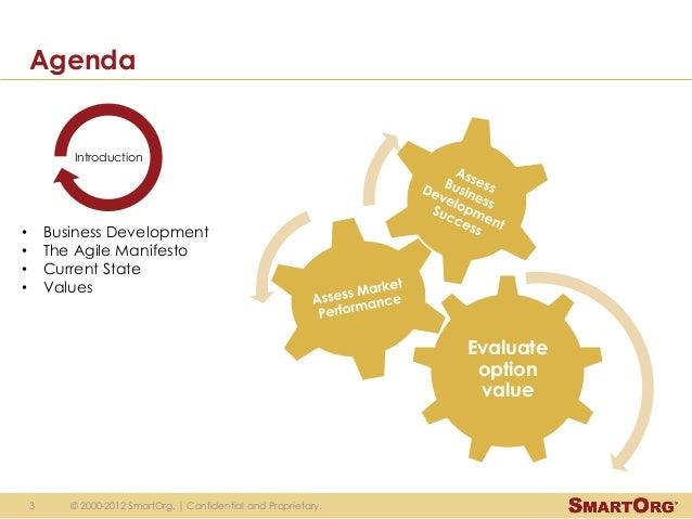 Agile business development Slide 3