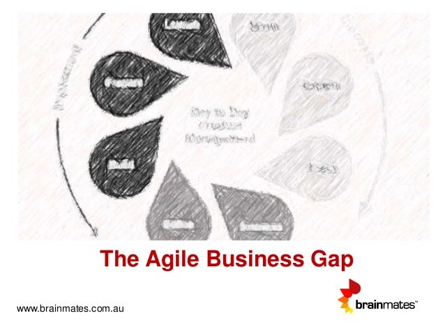 The Agile Business Gap www.brainmates.com.au