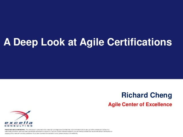 A Deep Look at Agile Certifications                                                                                       ...