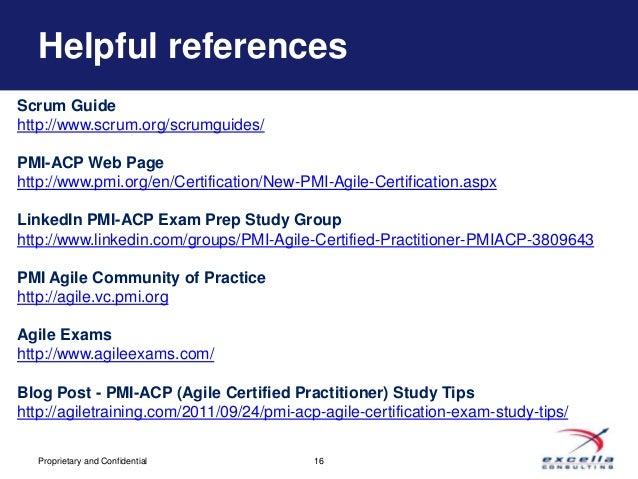 Scrum study certification