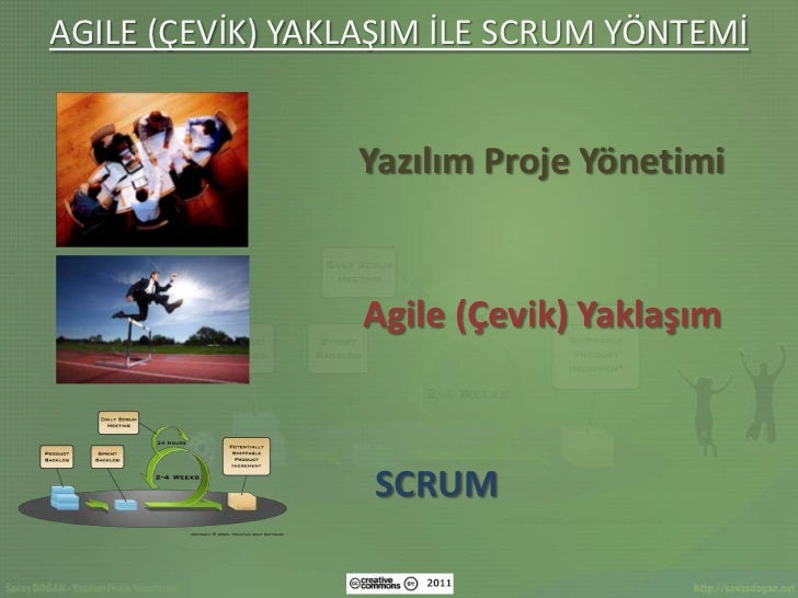 Agile (cevik) yaklasim_ile_scrum_yontemi-savas-dogan-cc-by Slide 2
