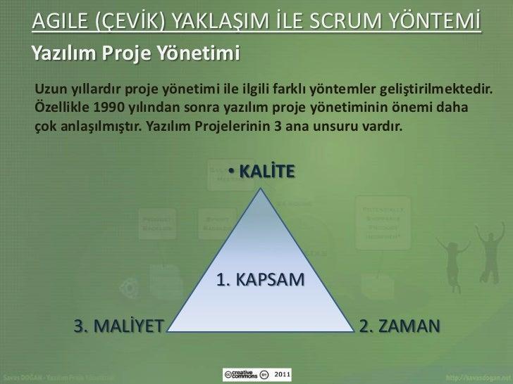 Agile (cevik) yaklasim_ile_scrum_yontemi-savas-dogan-cc-by Slide 3