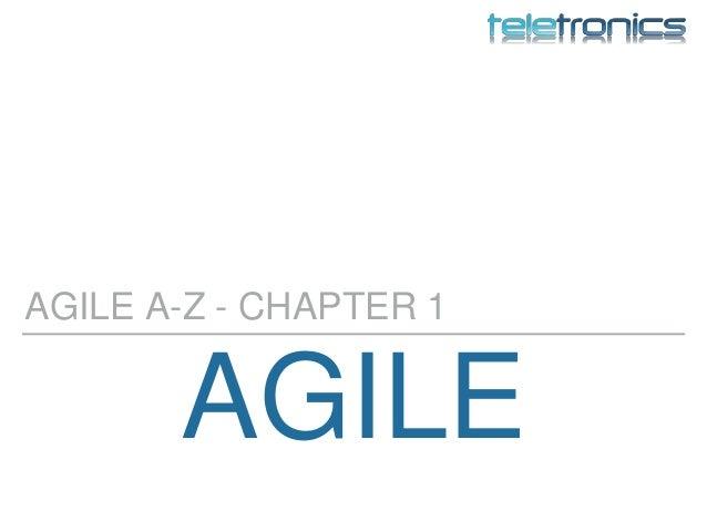 AGILE AGILE A-Z - CHAPTER 1