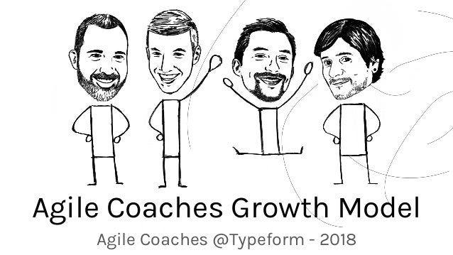 Agile Coaches Growth Model Agile Coaches @Typeform - 2018