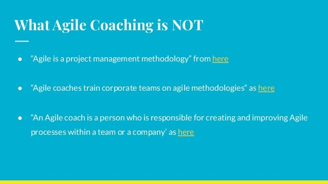 Agile Coaching is Incomplete without Technical Coaching Slide 2