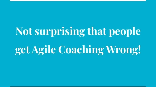 Agile Coaching is Incomplete without Technical Coaching Slide 3