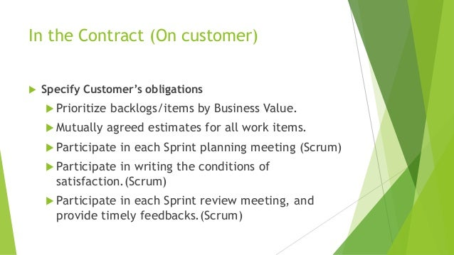 agile contracts book