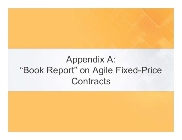 Agile contracts by drew jemilo agile2015 for Fixed price construction contract template
