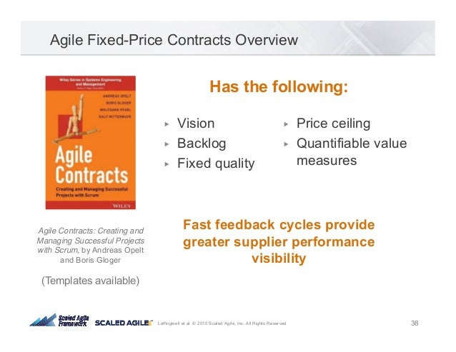Agile Contracts By Drew Jemilo Agile2015