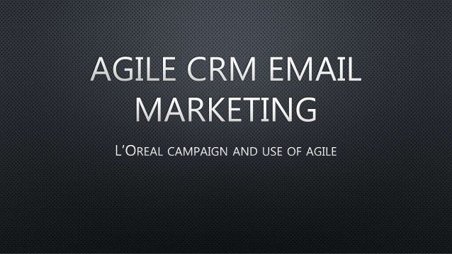 Agile crm email