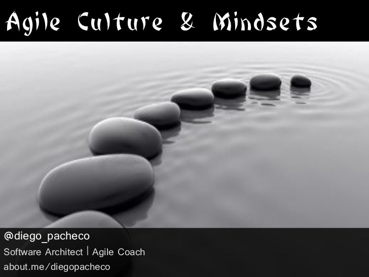 Agile Culture & Mindsets@diego_pachecoSoftware Architect | Agile Coachabout.me/diegopacheco