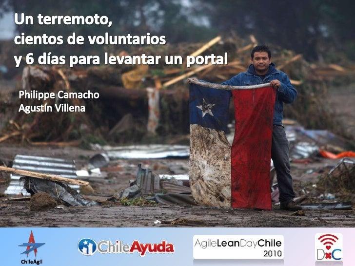 Un terremoto, cientos de voluntarios y 6 días para levantar un portal<br />Philippe CamachoAgustín Villena<br />