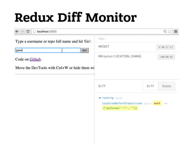 Рост экосистемы React + Redux 1. Библиотеки компонентов • Elemental UI • Material-UI • TouchstoneJS • reapp 2. Инструменты...