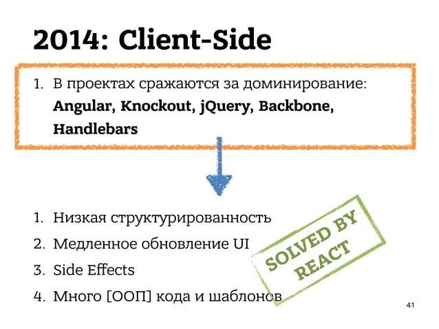 2014: Client-Side • 30 апреля 2014 • Сан-Франциско • 30ºC • 1700 разработчиков • F8 Facebook Developer Conference
