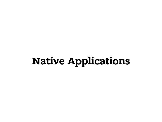 Native Applications 1. Electron 2. React Native 130