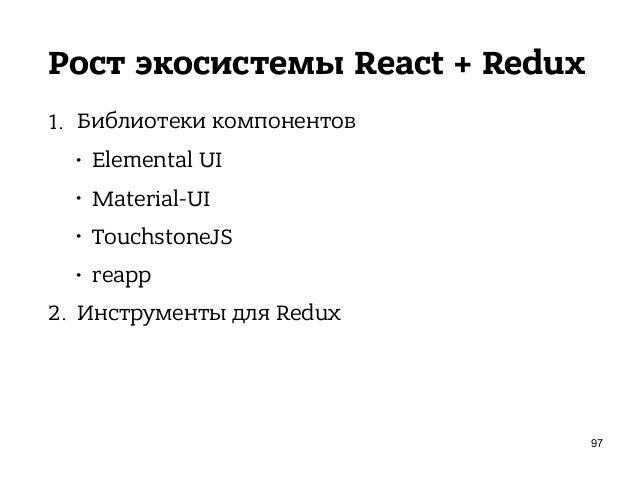 Redux Slider Monitor 1. Time Travel через слайдер