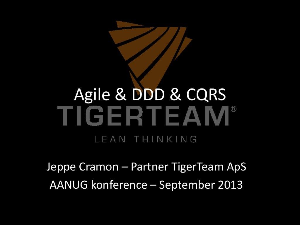 Agile, Architecture, DDD and CQRS