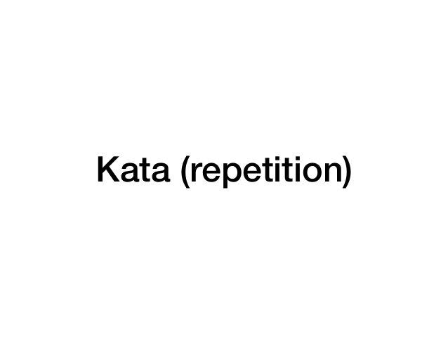 OCP Kata Open-Closed Principle Kata: http://matteo.vaccari.name/blog/archives/293