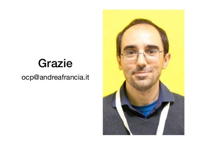 Agile Design Episode 3 Workshop OCP Kata - Andrea Francia - TDD milano - 2017-12-14