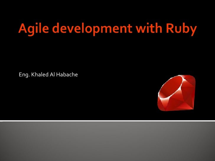 <ul><li>Eng. Khaled Al Habache </li></ul>