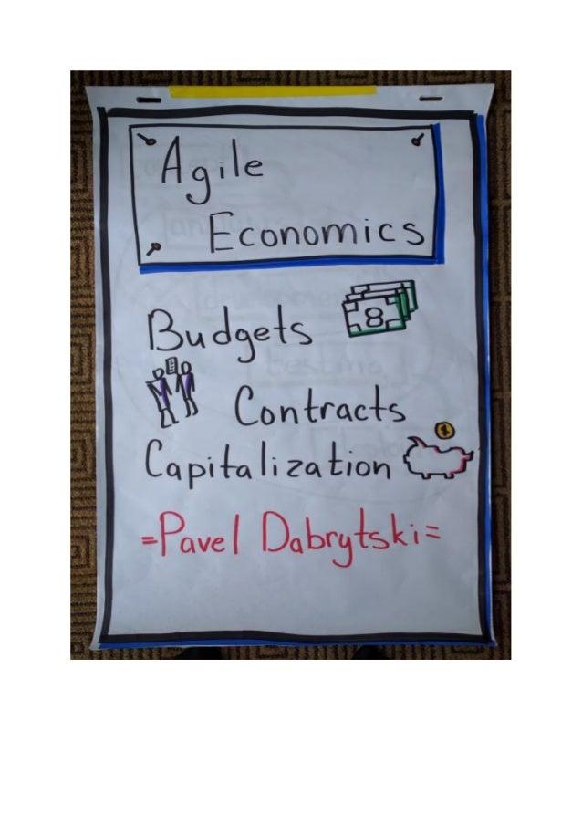 Agile Economics: Budgets, Contacts, Capitalization [Flipchart]