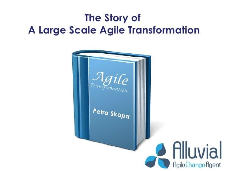 Agile Eastern Europe 2011 Large Scale Agile Transformation Slide 2