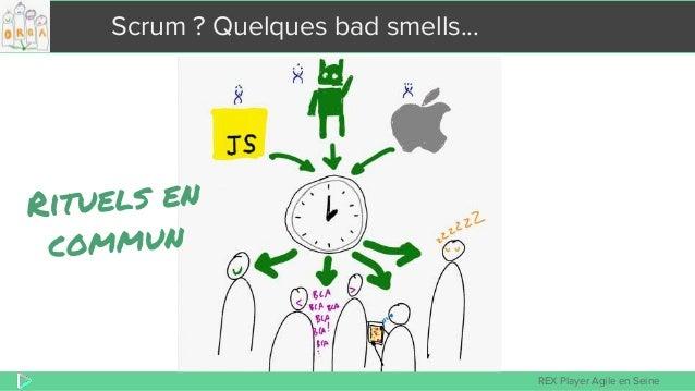 REX Player Agile en Seine Scrum ? Quelques bad smells...