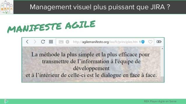 REX Player Agile en Seine Management visuel plus puissant que JIRA ?