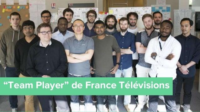 """REX Player Agile en Seine Si on regarde le reste de l'open-space... """"Team Player"""" de France Télévisions"""