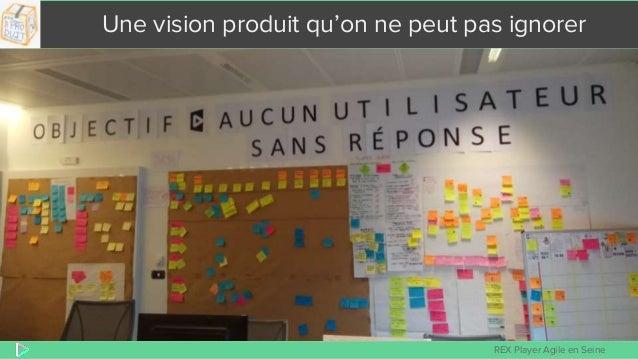 REX Player Agile en Seine Une vision produit qu'on ne peut pas ignorer
