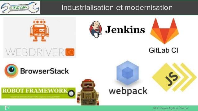 REX Player Agile en Seine Industrialisation et modernisation