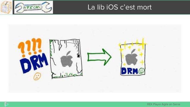 REX Player Agile en Seine La lib iOS c'est mort