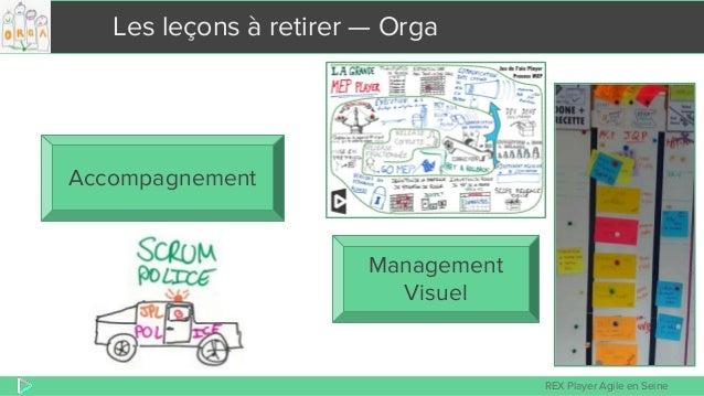 REX Player Agile en Seine Les leçons à retirer — Orga Management Visuel Accompagnement