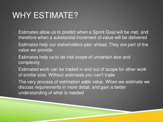 Agile Estimation & Capacity Planning Slide 3