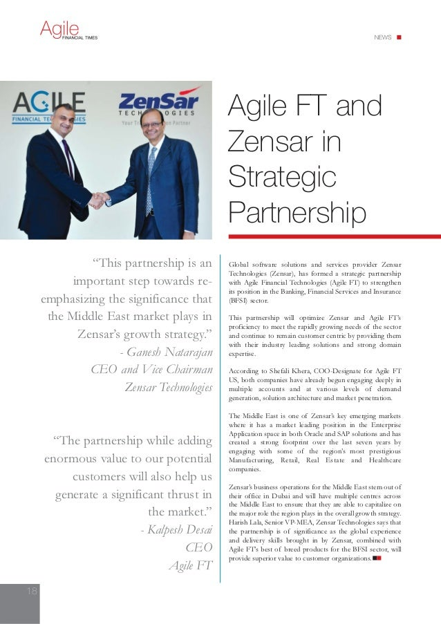 www.agile-ft.com  AMERICAS  Agile Financial Technologies Inc.  626 RexCorp Plaza, Office No. 708  Uniondale  New York 1155...