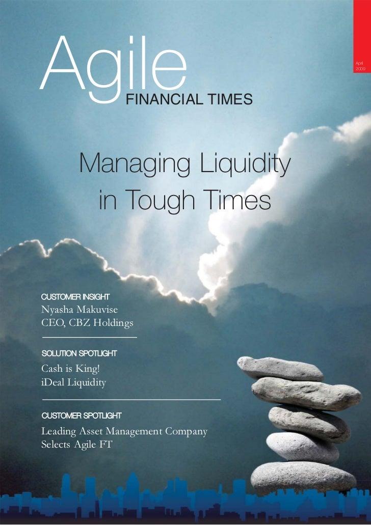 Agile                                  April                                        2009                          FINANCIA...