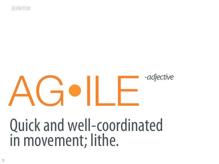 Agile for Marketing Slide 3