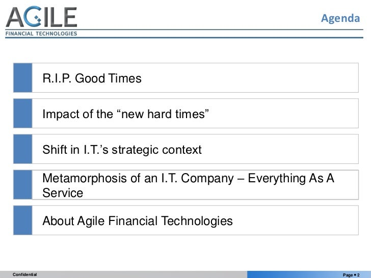 """Technology Innovation For Banks In The """"New Hard Times"""" Slide 2"""