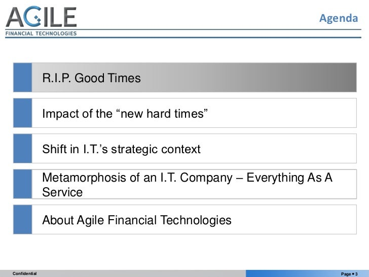 """Technology Innovation For Banks In The """"New Hard Times"""" Slide 3"""