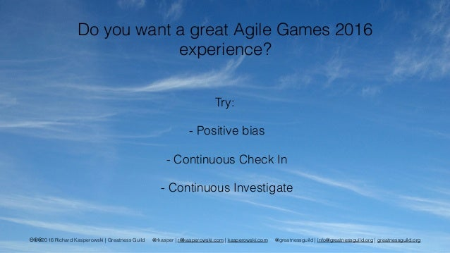 Awesome Teams: Games for Continuous (Extreme?) Teaming