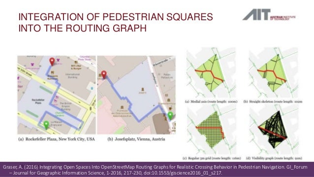 Landmark-based instructions for pedestrian navigation systems using O…